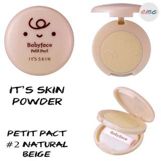 BN It's Skin Babyface Petit Pact- #02 Natural Beige