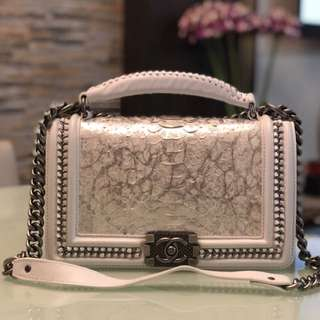 CHANEL LEBOY CHAIN BAG