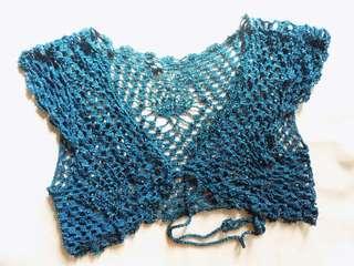 Summer crochet bolero