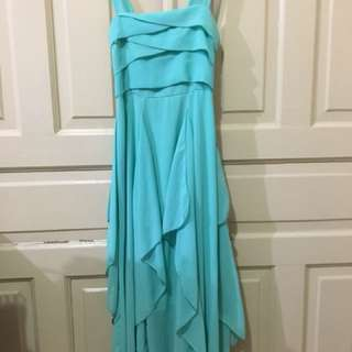 Mint Green Layered Dress