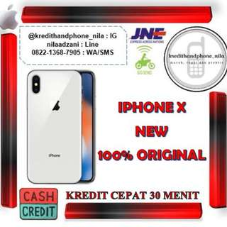 Iphone X 64Gb Silver & Grey Internasional, Cash & Kredit Tanpa Kartu Kredit Proses Cepat