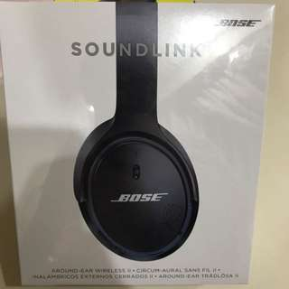 Bose Soundlink II around-ear wireless headphone