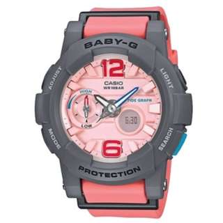 Casio Baby-G G-LIDE Ladies Pink Resin Watch