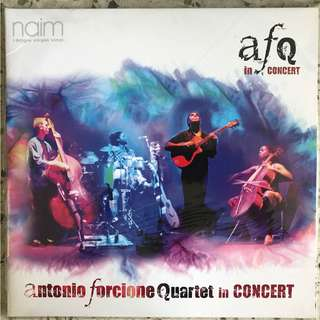Antonio Forcione Quartet ‎– In Concert  dbl LP
