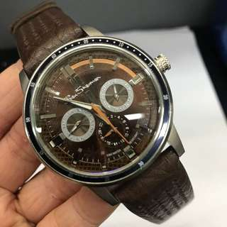 Mens Brown Leather Strap