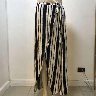 Cotton-On striped skirt