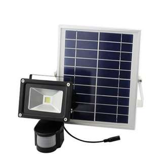 Solar PIR Security Floodlight 30w