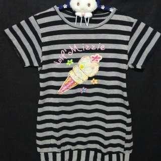 ❤ Kaos Anak Lil Mizzie Stripes