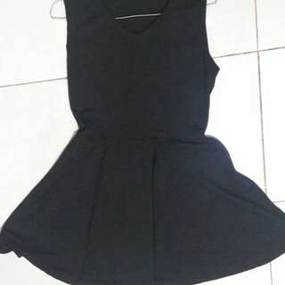 Black dress casual