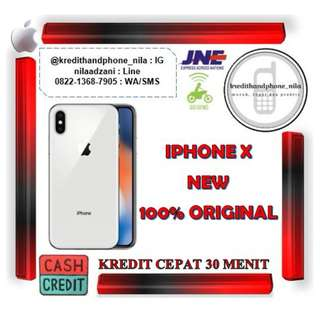 Iphone X 256Gb Silver & Grey Internasional, Cash & Kredit Tanpa Kartu Kredit Proses Cepat
