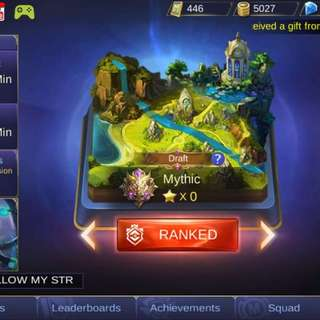 Mobile Legend Account (Mythic)