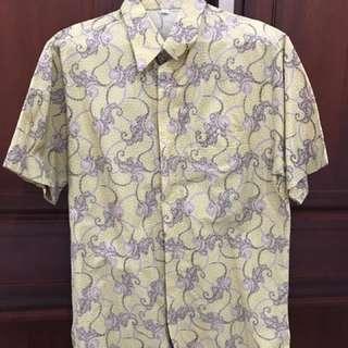 Jual Baju Batik Pria No Brand High Quality