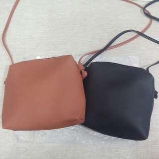 2 sling bags