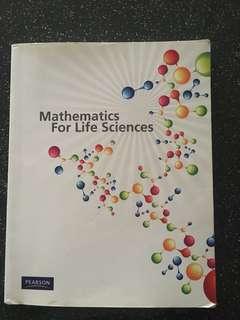Mathematics for Life Sciences