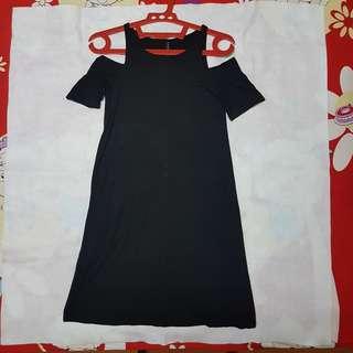 Stradivarius Black Dress