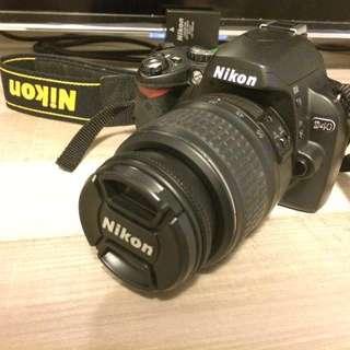 🚚 Nikon D40 單眼數位相機 (公司貨) +相機專用包