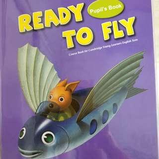 徵劍橋英語書和作業  :  Ready to Fly