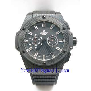 035046-HUBSP 88-1R YIAY HUBLOT BIG BANG KING CHRONOGRAPH FULL CARBON CASE