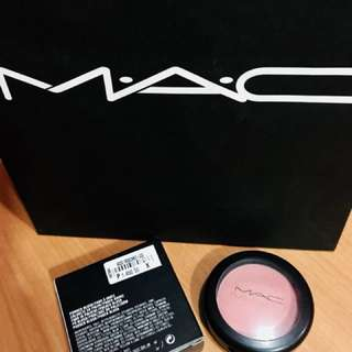 Original MAC Makeup • Mocha Matte Powder Blush