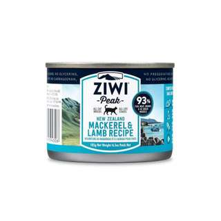 ZIWI PEAK CANNED CAT FOOD – MACKEREL & LAMB