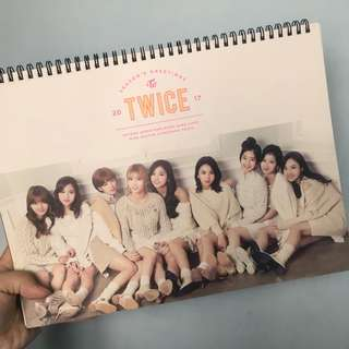 Twice 2017 月曆
