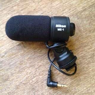 Nikon ME-1 mic