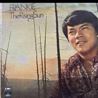 Local singer Frankie vinyl record lp