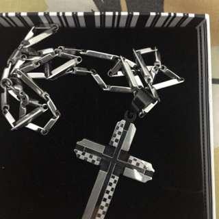 Kalung Salib Titanium