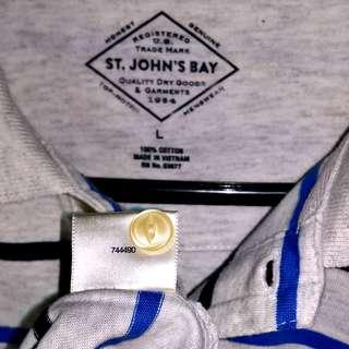 St. John's Bay Collared Shirt