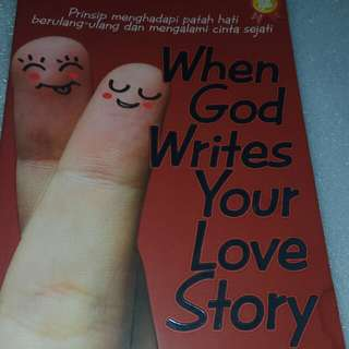 buku When god write love story