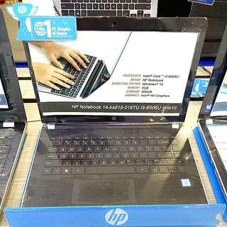 Kredit HP14-BS015TU.i3 Tanpa Kartu Kredit
