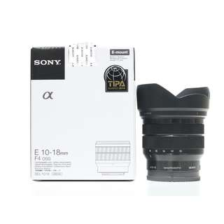Sony E 10-18mm f/4 OSS Lens (Still under 3 Months Sony Malaysia Warranty)
