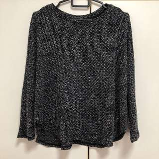 BN cotton on batwing knit top