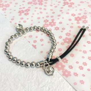 Micheal Kors 銀色珠珠手鍊 bracelet