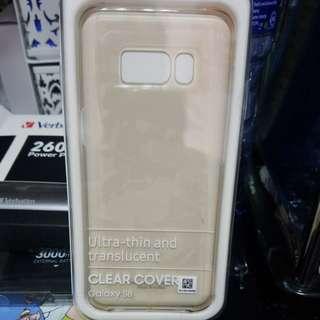 Samsung s8原裝透明殼1