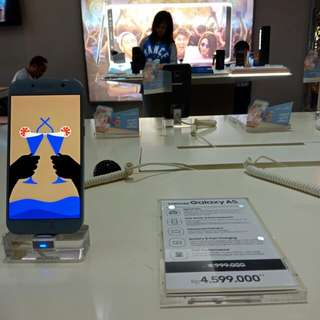 Samsung Galaxy A5 Credit Proses 3 Menit