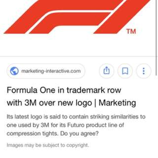 Formula 1 Decal Sticker