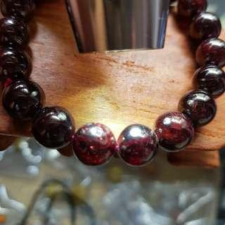 清货 Garnet bracelet 11mm 大颗粒