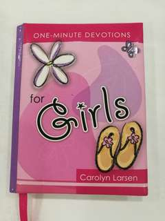 One minute devotion for girls