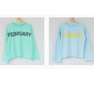 NEW Month loose sweater