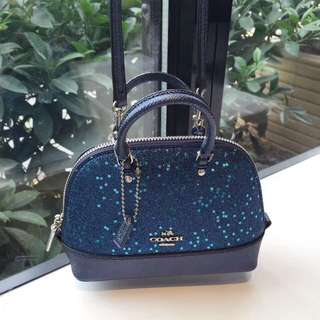 Coach Glitter Mini Sierra Satchel