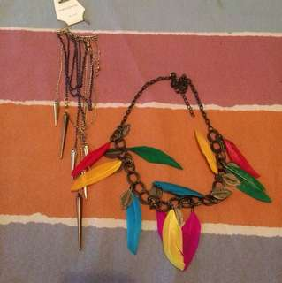 kalung anting (1set)