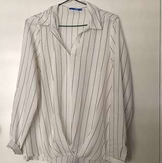 Stripy Blouse size 10
