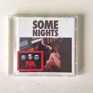 Selling CD Some Nights by FUN