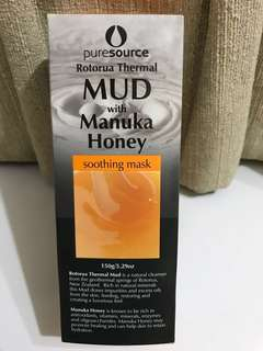 New Zealand Puresource Rotorua Mud Mask with Manuka Honey