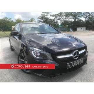 Mercedes-Benz CLA-Class CLA180