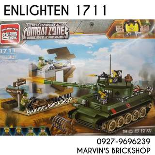 For Sale ENLIGHTEN Military Combat Zones Building Blocks Toy