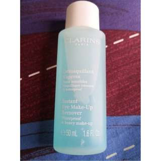 Clarins Instant Eye Make-Up Remover travel size 50ml