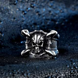 Dragon Claw Skull Stainless Steel Ring