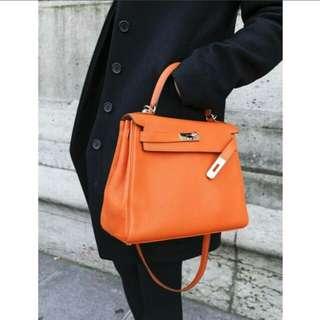 Hermes Kelly Bag Leather